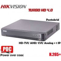4 канален DVR рекордер DS-7204HQHI-K1/P/A PoC 5в1