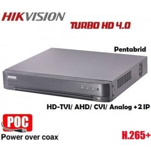 16 канален DVR рекордер DS-7216HQHIK2/P/A PoC 5в1