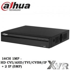 16 канален DVR Dahua 1MP Pentabrid XVR4116HS