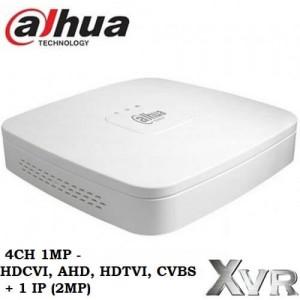 4 канален DVR Dahua 1MP Pentabrid XVR4104С