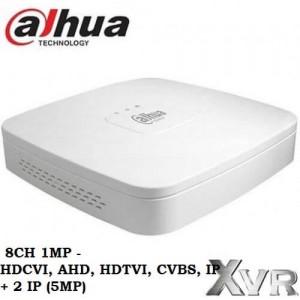 8 канален DVR Dahua 1MP Pentabrid XVR4108С