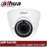 Куполна камера 2MP HD-CVI вариофокална HAC-HDW1200R-VF