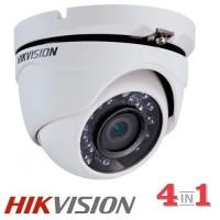 4 в 1 Куполна камера 1MP DS-2CE56C0T-IRMF