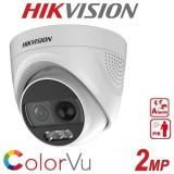 Камера за видеонаблюдение ColorVu 2MP DS-2CE72DFT-PIRXOF