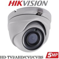 Куполна камера 5MP HD-TVI/AHD/CVI/CVBS DS-2CE56H0T-ITMF
