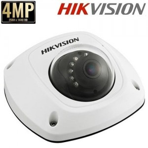 Куполна IP камера 4MP DS-2CD2542FWD-IS