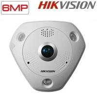 Панорамна куполна IP камера 6MP DS-2CD6362F-I