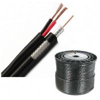 Коаксиален кабел RG59 CU + 2x0.75mm