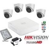 Система за видеонаблюдение с 4 камери 2MP Full HD с микрофони