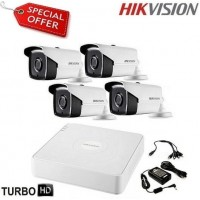 Готов комплект HD-TVI с 4 булет камери HIKVISION 4CH-40M