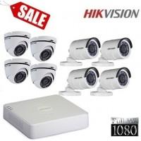 Комплект за видеонаблюдение Full HD с 8 камери 8CH-FHD