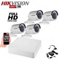 Готов комплект Full HD с 4 булет камери 4CH-OUT/FHD