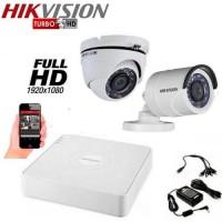 Система за видеонаблюдение Full HD 2 камери HIKVISION
