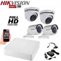 Готов комплект Full HD с 4 охранителни камери 4CH-FHD