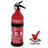 Пожарогасител 1кг прахов ABC