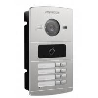 Лицев панел за видеодомофонни системи с 4 пост DS-KV8402-IM